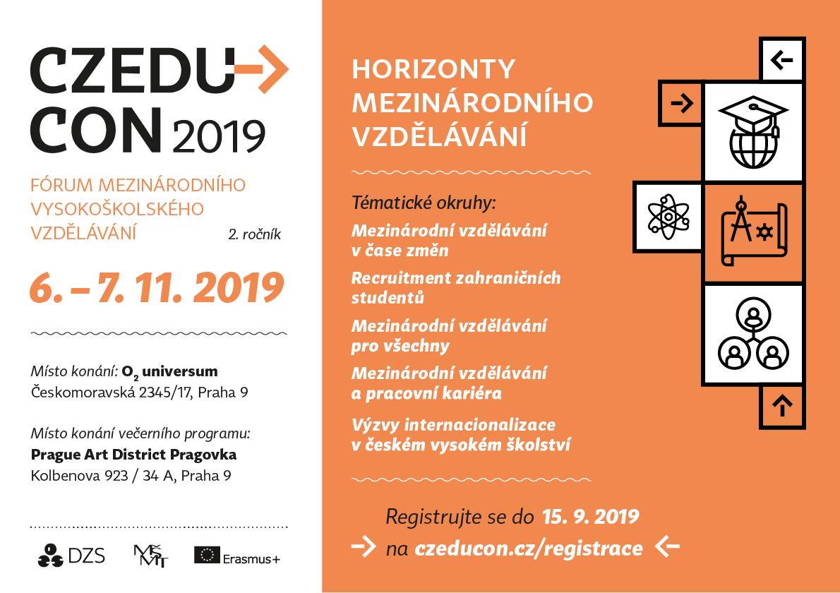 Pozvánka Czeducon 2019